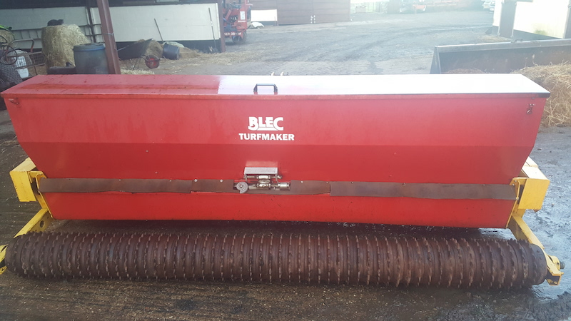 Blec Turfmaker Seed & Drill NOW SOLD for sale