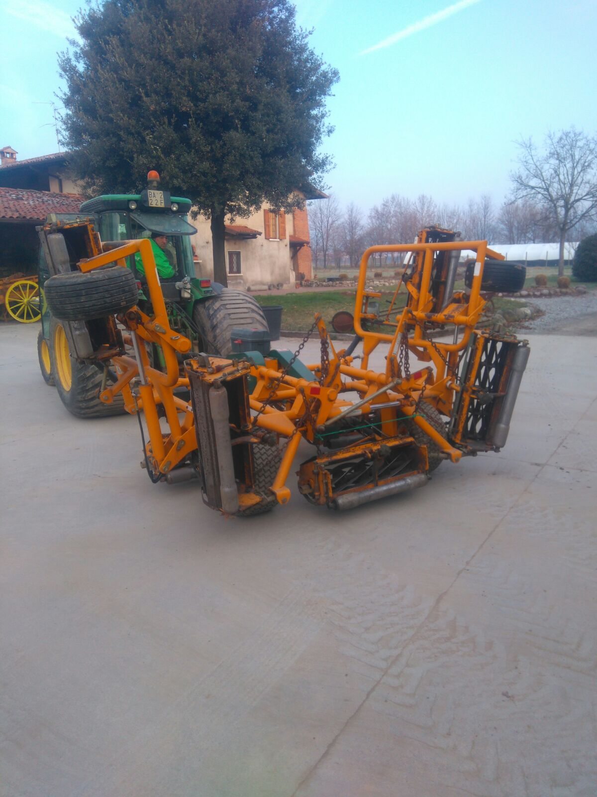 REEL MOWERS 7 MOWERS KESMAC for sale