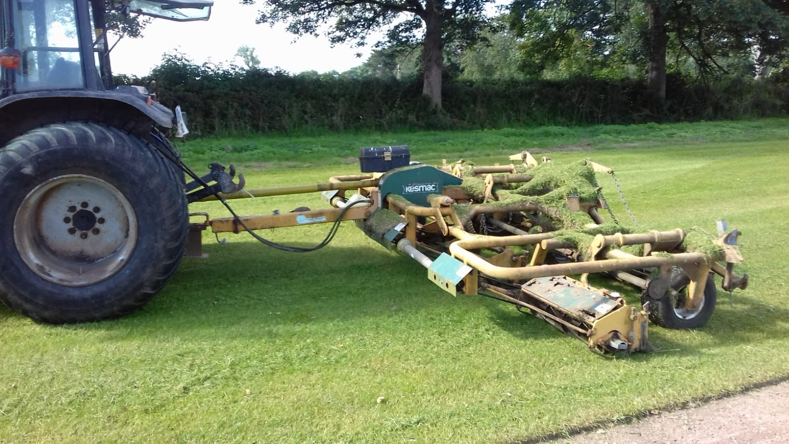 Kesmac 7 Gang Mower for sale
