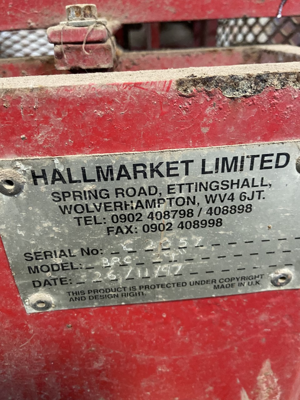 Hallmarket Big Roll Cutter for sale