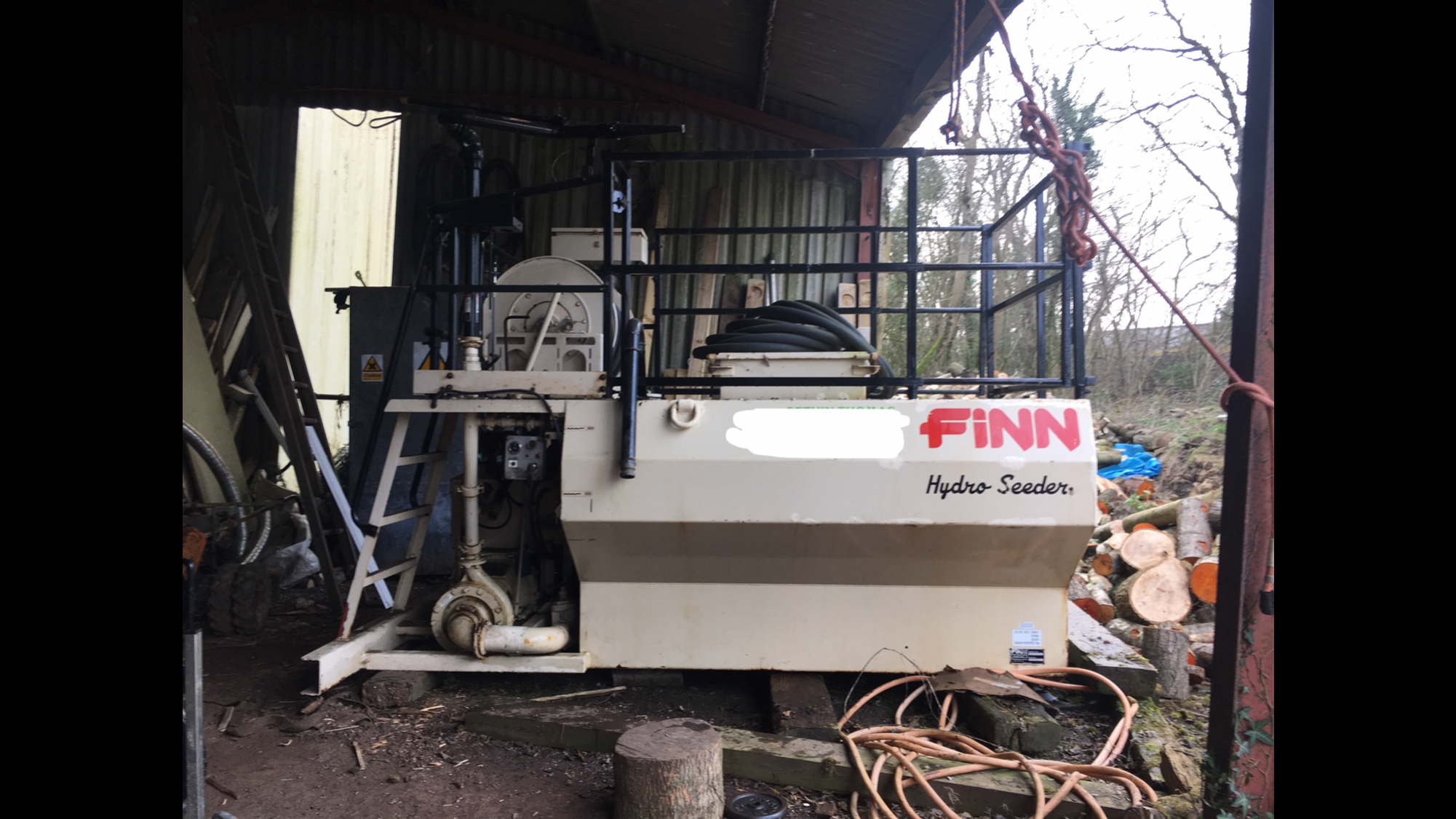 Finn Hydroseeder T90S  for sale