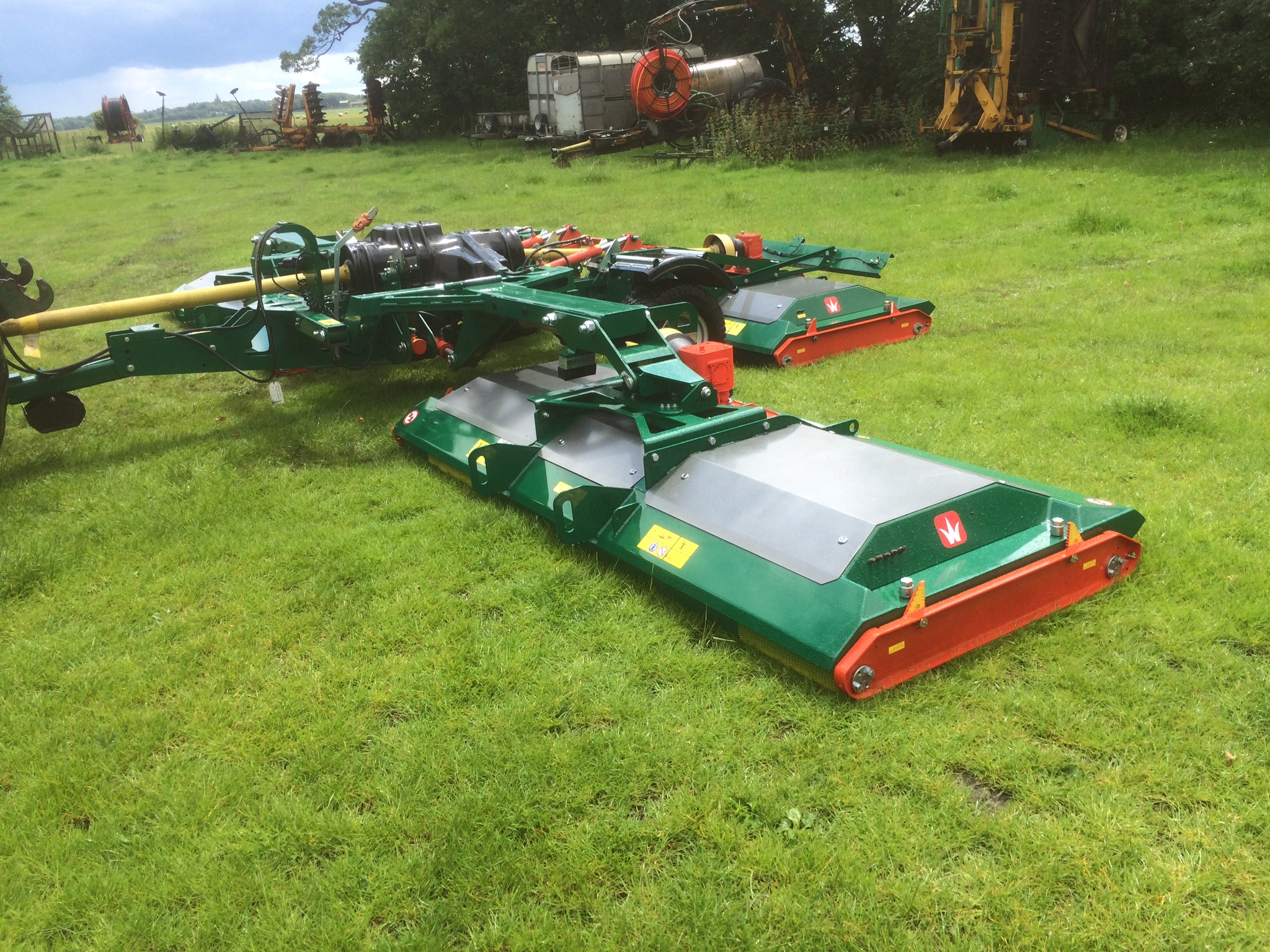 Wessex RMX 800 mowers for sale